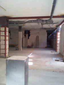 Edificio Menorca sin puntales